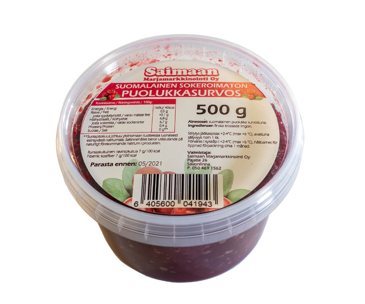 Lingonberry puree